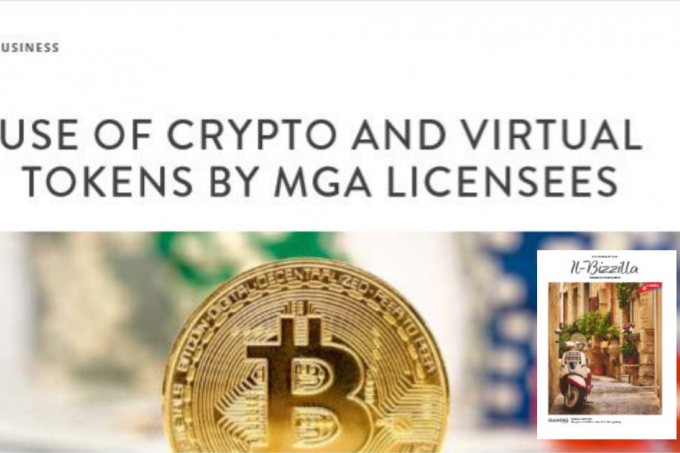 Il Bizzilla Magazine February: Use of crypto and virtual tokens by MGA licensees