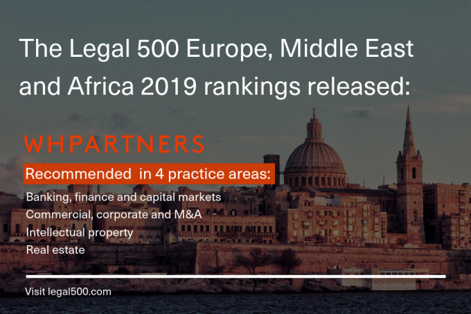 The Legal 500 Europe, Middle East and Africa 2019 rankings released