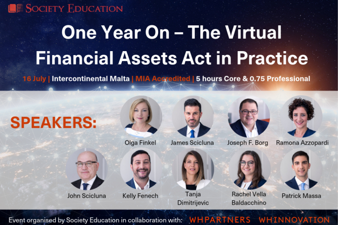 Event: One Year On – The Virtual Financial Assets Act in Practice