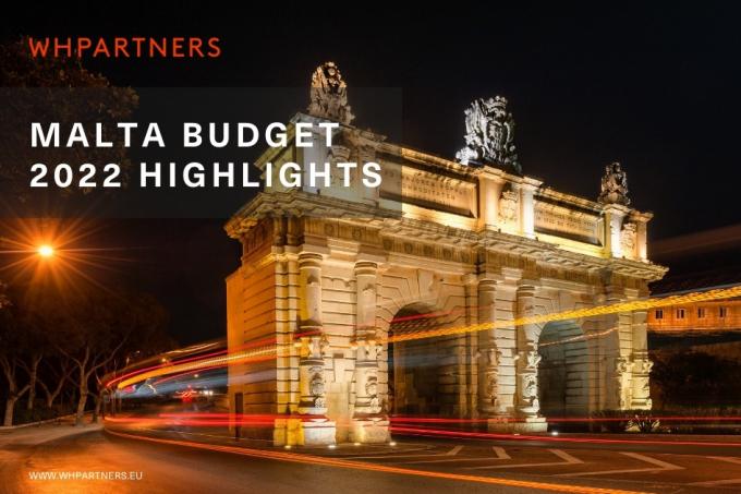 Malta Budget 2022 Highlights