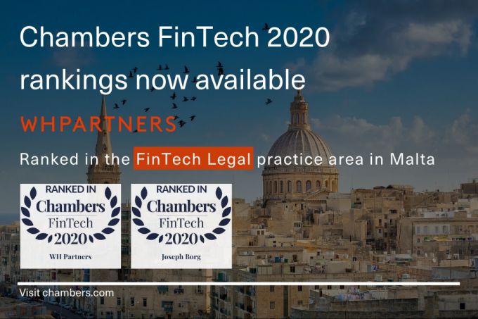 WH Partners ranked in Chambers FinTech 2020 Guide