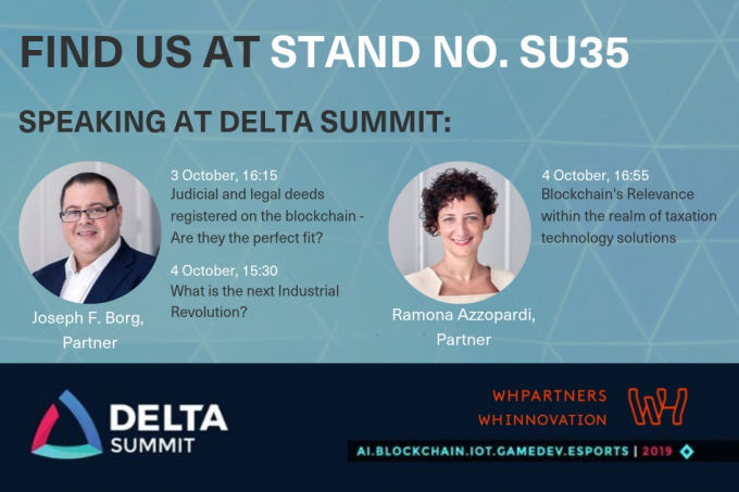 Join WH Partners & WH Innovation at Delta Summit 2019