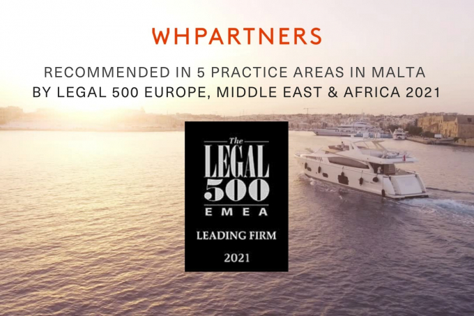 WH Partners ranked in 5 practice areas in Legal 500 EMEA 2021 guide
